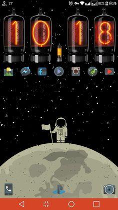 Nova + Xwidget + Moonriseiconpack