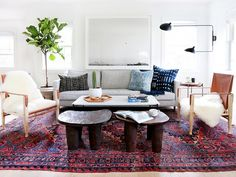 Home Tour: A Hip Couple's Fresh California Bungalow: Designer Amber Lewis crafts a fresh space with a laid-back personality. via @mydomaine