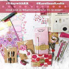 Enter the Valentines Day giveaway by @karolinaskrafts #vdaywithKK