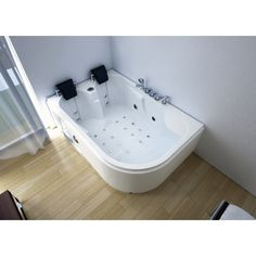 1000 images about baignoire balneo on pinterest jets. Black Bedroom Furniture Sets. Home Design Ideas