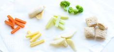 100 baby-led weaning finger food ideas and recipes, via One Handed Cooks