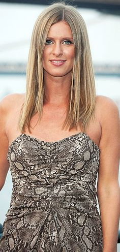 Paris Hilton.... Nicky Hilton  Paris was born in February 1981. Nicky was born in October 1983.