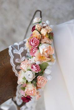floral crown wedding flower crown flower crown flower by mamwene