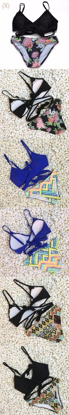 Cheap biquini up, Buy Quality biquini top directly from China biquini woman Suppliers: Sexy Criss Cross Bikini Brazilian 2017 Swimsuit Women Push Up Swimwear Bikini Set Wrap Top Bathing Suits Swim Biquini Bikini Swimwear, Bikini Set, Criss Cross Bikini, Bathing Suit Top, Brazilian Bikini, Women Swimsuits, Push Up, Swimming, Sexy