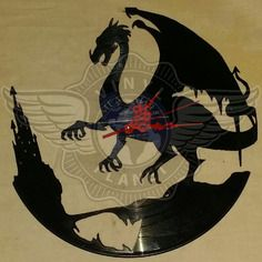 22,50 € Horloge vinyle décoration Dragon