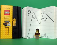 LEGO Teams Up With Moleskine To Produce Limited Edition Notebooks http://designtaxi.com/news/351436/LEGO-Teams-Up-With-Moleskine-To-Produce-Limited-Edition-Notebooks/