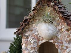 Learn how to make a fairy house from a birdhouse.