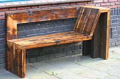 Wooden Pallet Furniture Smart Ways Make Wood Pallet Furniture 44 Wooden Pallet Projects, Wooden Pallet Furniture, Wood Pallet Signs, Wooden Pallets, Wooden Diy, Diy Furniture, Diy Projects, Furniture Design, Outdoor Projects