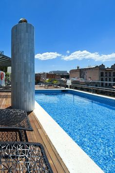 Take a dip in the rooftop pool for an epic start to the day | Hotel Claris (Barcelona, Spain) - Jetsetter