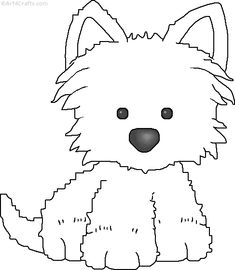 http://www.graphicgarden.com/files17/graphics/print/crafts/animals/dogcr1b.gif   Many cute printables in b/w and color.  Check left side of site for FREE stuff.