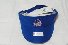 Nike Boise State Broncos Coach Visor Hat Cap OSFA NWT 9fe105eeac8b