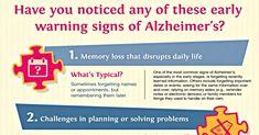 10 Early Signs of Alzheimer's | The Alzheimer's Site Blog