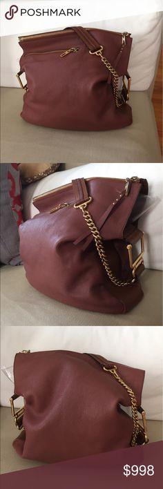 Chloe Vanessa bag Crossbody mauve bag tote Lovely bag. Purchased at Saks  fifth. Comes f64bce0e86d43
