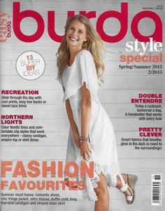 Burda Style Easy Spring/Summer 2015 - Sew Much Fabric