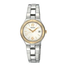 Seiko Women's SXDC48P1 Silver Dial Stainless Steel Watch * Click on the image for additional details. (This is an Amazon Affiliate link and I receive a commission for the sales)