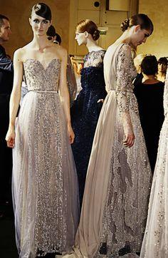 Backstage Elie Saab Huate Couture Winter 2013