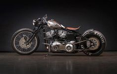 Harley-Davidson S&S Shovelhead Bobber Sub Zero by Gasolina Motos Bobber, Bobber Bikes, Ducati Scrambler, Bobber Motorcycle, Bobber Chopper, Motorcycle Design, Motorcycle Style, Yamaha, Bobber Custom
