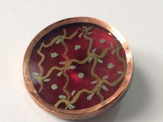 BEAUTIFUL 18TH C. BUTTON - 1 1/2""