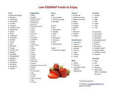 Low FODMAP Foods to Enjoy