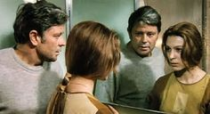 Donatas Banionis and Natalya Bondarchuk in Solaris (1972) Dir: Andrei Tarkovsky