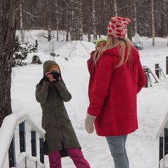 Today we had a in our winter wonderland. Thank you and Mikael and of course our lovely photographer Looking forward for the results. Winter Fun, Winter Wear, Baby Wearing, Winter Wonderland, Canada Goose Jackets, Merino Wool, Carry On, Behind The Scenes, Winter Jackets