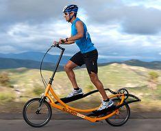 Bici eliptica - trayectos menores a 20 minutos... ufff qué dolor!!!!-