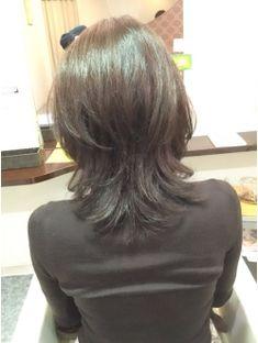 Hear Style, Haircuts, Hairstyles, Medium Layered Hair, Gorgeous Hair Color, Mirror Mirror, Hair Lengths, Eyeshadow, Asian
