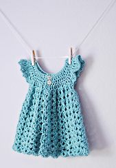 Ravelry: Angel Wings Pinafore pattern by Maxine Gonser