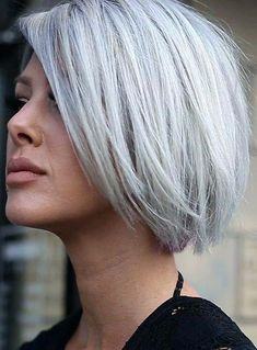 Most gorgeous and amazing trends of silver hair colors for short thick haircuts in 2018. You can easily bring unique hair colors variations in your hair by wearing these best silver hair colors. These elegant and feminine hair colors are best choice for ladies who love to sport short with thick hair textures in 2018.