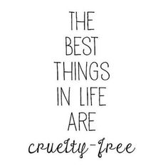 #vegan cruelty-free living