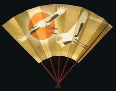 Samurai Warrior Lord's battle folding fan Gunsen (Tessen