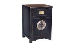 Vente Mobilier Vintage Loft / 18207 / Chinese / Commode 2 portes - Noir laqué