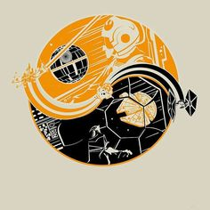 Yin & Yang #starwars #yinyang #empire #rebellion