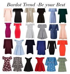 Bardot Trend by gabriela2105 on Polyvore featuring moda, Caroline Constas, Velvet, House of Holland, J.Crew, CECILIE Copenhagen, Adrianna Papell, Chi Chi, endless rose and River Island