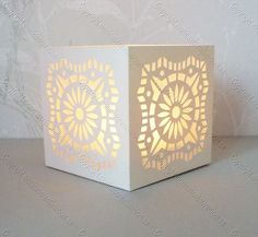 FREE SVG Tea Light Box 16+-+Monica's+Creative+Room lots of file formats cut files