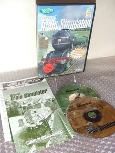 Microsoft TRAIN SIMULATOR - Gioco PC CD - vers. ITA software in INGLESE