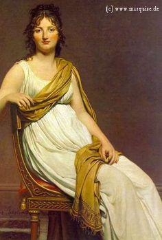 Madame de Verninac by David, 1799  Louvre, Pari