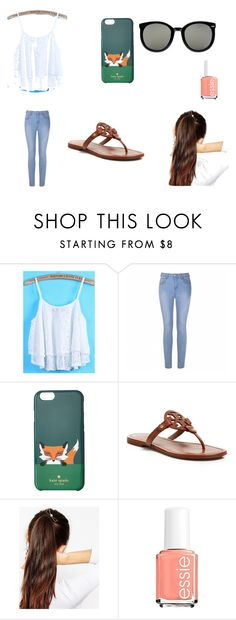 """Free Day"" by aussie20066262 on Polyvore featuring Ally Fashion, Kate Spade, Tory Burch, ASOS, Essie and Karen Walker"
