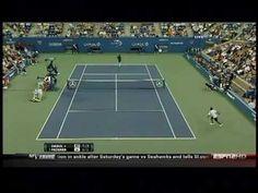I just love him. Peace. Love. Roger Federer.
