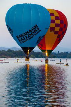 https://flic.kr/p/FeSA9s | Balloon festival - Canberra