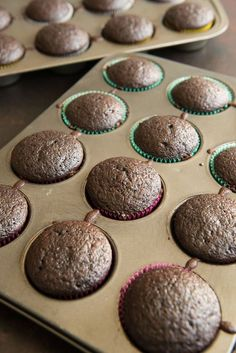 The best, super moist chocolate cupcakes ever. Made from scratch with cocoa powder, perfectly fluffy with a domed top and way better than a boxed cake mix! Chocolate Cupcakes From Scratch, Homemade Chocolate Cupcakes, Chocolate Recipes, Chocolate Cake, Chocolate Chips, Cupcake Recipes From Scratch, Mint Chocolate, Fudge, Moist Cupcakes