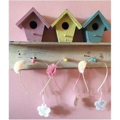 Diadema flor tul Bird, Outdoor Decor, Home Decor, Flower, Tulle, Decoration Home, Room Decor, Birds, Home Interior Design