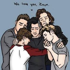 The best and cutest fan art tributes to Zayn Malik leaving One Direction  - Sugarscape.com