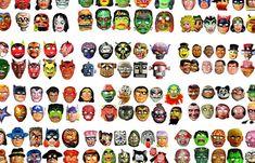 Juxtapoz Magazine - A Collection of Vintage Halloween Masks