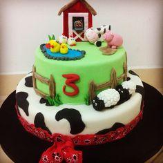 Farm cake! Torta de la granja!