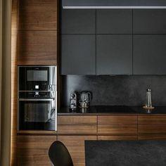 Modern Kitchen Cabinets, Modern Kitchen Design, Interior Design Kitchen, Modern Interior Design, Luxury Interior, Contemporary Interior, Kitchen Designs, Diy Interior, Modern Decor