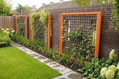 outdoor wall trellises - Google Search