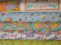 Oh The Places Youll Go By Dr Seuss For At Robert Kaufman Fabrics