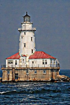 Farol ✯ Chicago - EUA.  Lighthouse