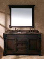 "60"" Peruga Double Sink Vanity - Burnished Mahogany"